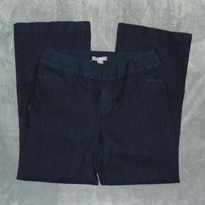 Chico's womes wide leg jeans sz 2S
